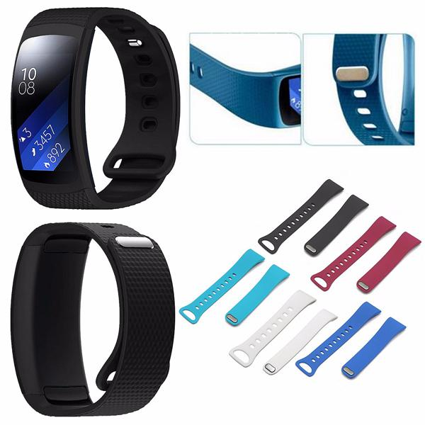 Ajustable Silicone Replacement Watch Strap Band for Samsung