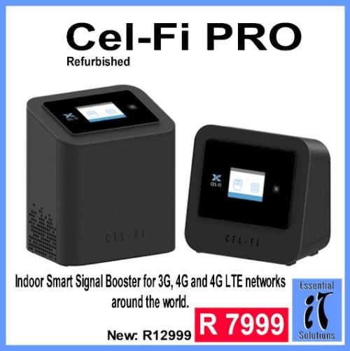 Cel-fi pro wi-fi signal booster - indoor unit - for mtn
