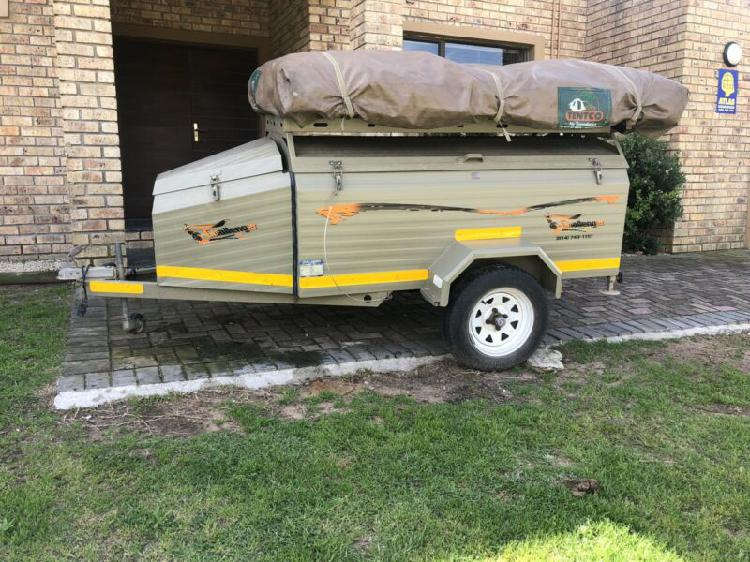Challenger mini offroad camping trailer