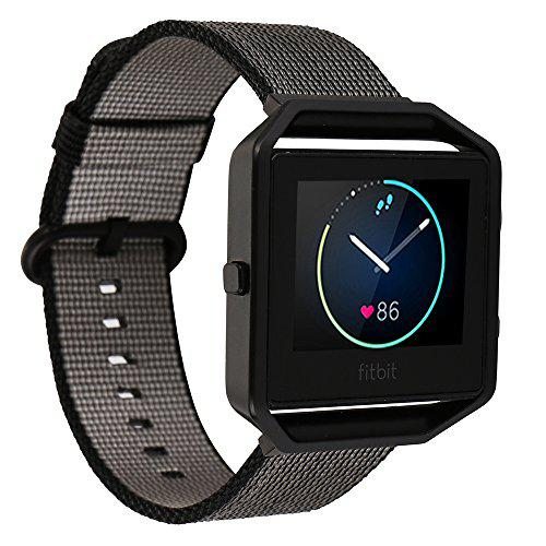 Fitbit Blaze Smart Watch Band Large,HuanlongTM Stainless