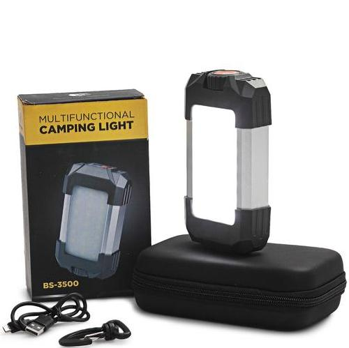 Multi-functional camping light power bank usb output