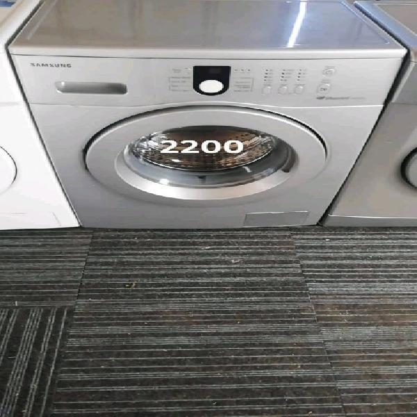 Silver samsung 6kg diamond drum top loader washing machine