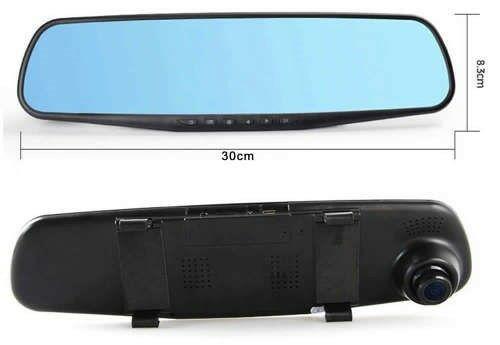 "4.3"" full hd 1080 vehicle blackbox dvr g sensor dual camera"