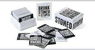Drunk, stoned or stupid - party game