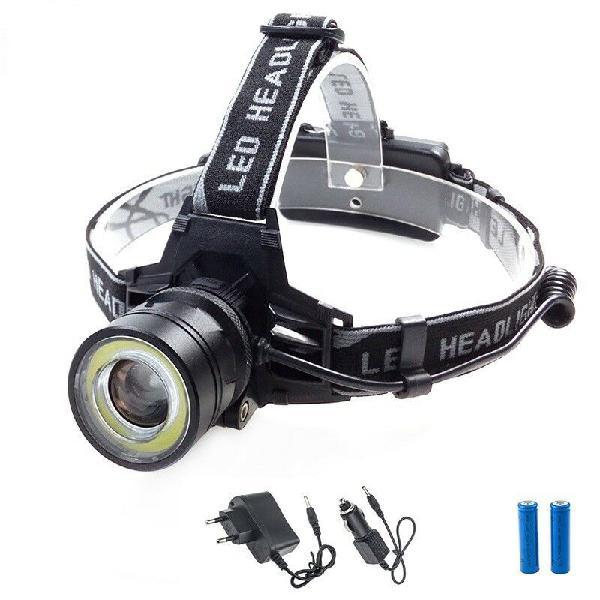 1000 lumens led headlamp 4 modes zoomable led headlight