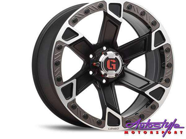 20 inch lenso intimid 6-139 alloy wheels bakkie application