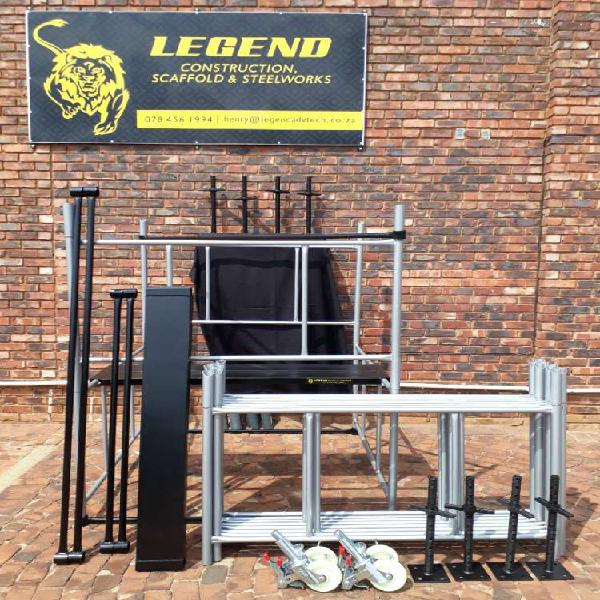 Brand new scaffolding 6 m kit available now !!!