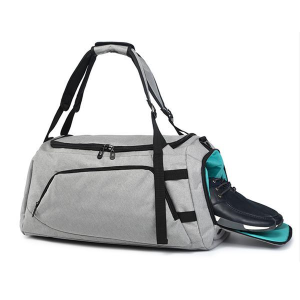Men Women Travel Sports Gym Bag Backpack Handbag Shoulder