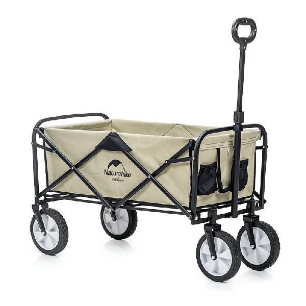 Naturehike Portable Folding Luggage Trolley Cart Adjustable