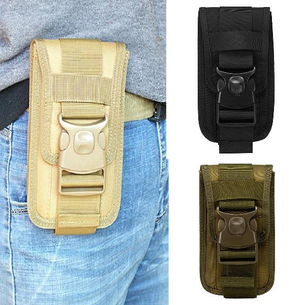 Outdoor camping tactical cell phone bag case waist pack