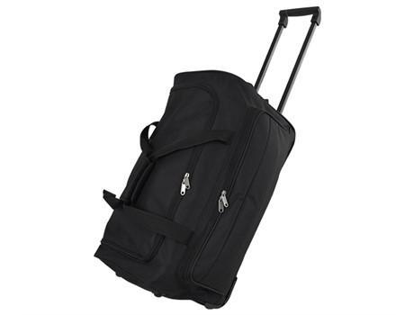 Top Travel Trolley Bag - Black