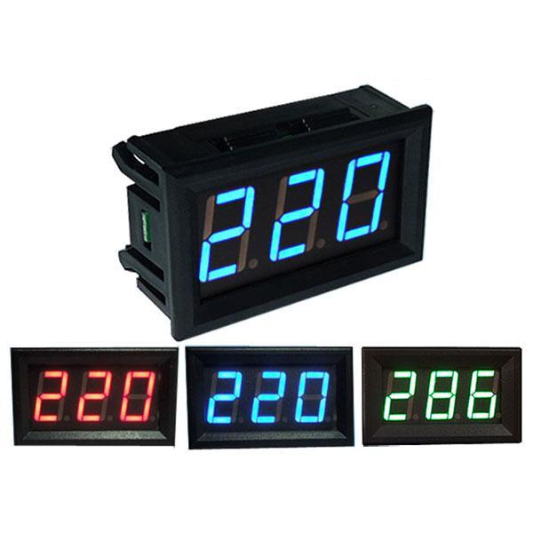 0.56 Inch AC70-500V Mini Digital Voltmeter Voltage Panel