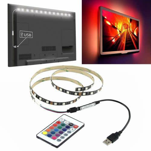 2m rgb smd5050 waterproof led strip light tv backlilghting
