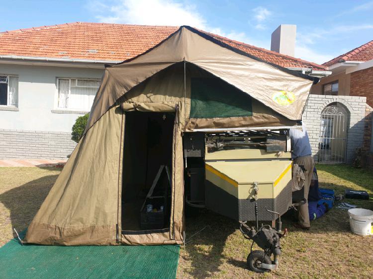 4x4 trailor echo roof top tent combo
