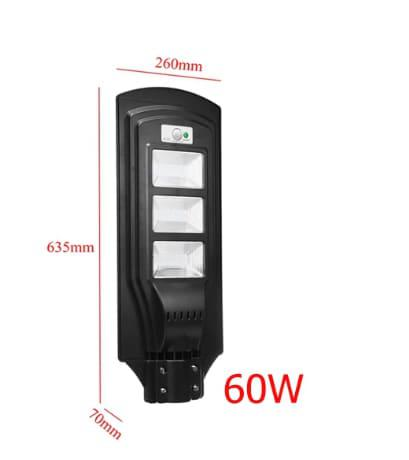 60w solar light - solar 20w led street light - 60w led solar