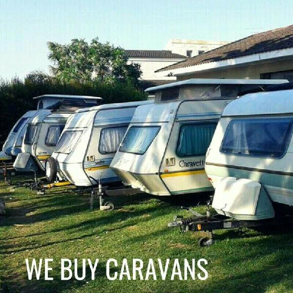 Cash for caravans.....best prices...as is