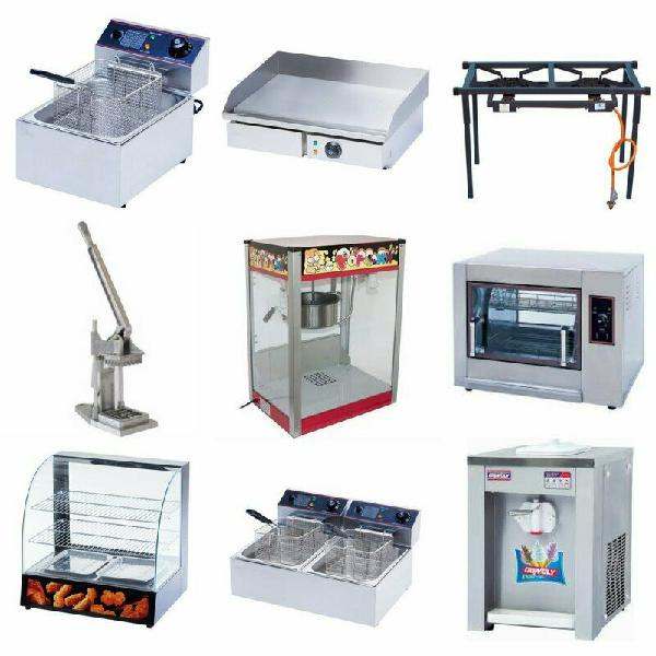 Deep fryers, chip fryers, chip cutters, catering equipment -