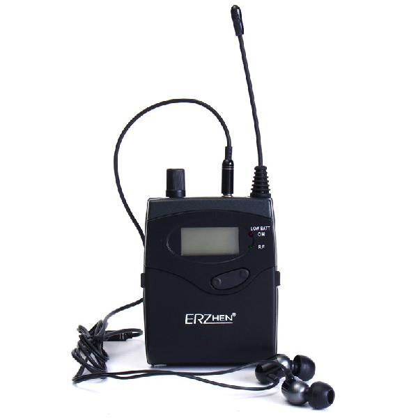 ERZhen In-Ear Receiver for Professional Stereo Wireless