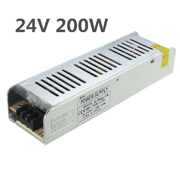 IP20 AC220V To DC24V 200W Switching Power Supply Driver