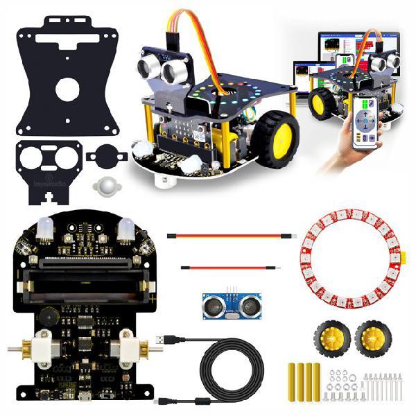 MICRO-BIT MINI SMART ROBOT CAR KIT V2 KS0426