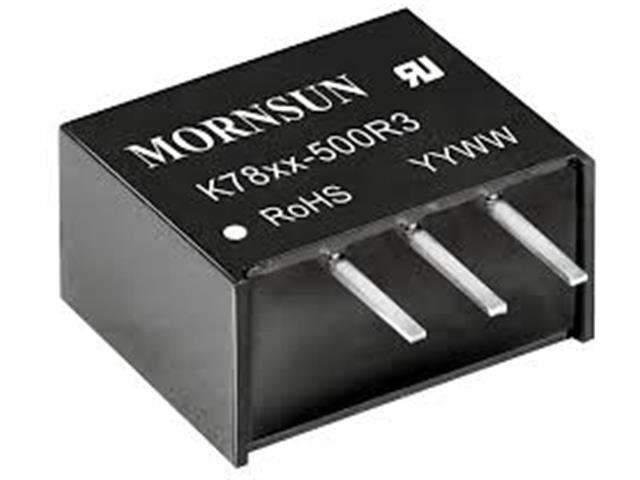 MORNSUN DC/DC Converter VI=(6.5-36V) 24V VO=5VDC 500MA OR