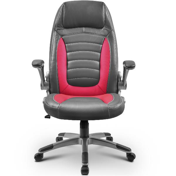 Merax Ergonomic Office Chair High-Back PU Leather Adjustable