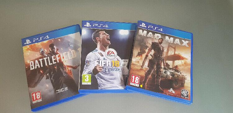 Ps4 games (good condition) r250 neg