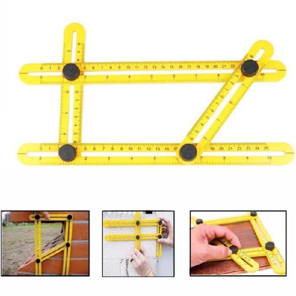 Professional angle template tool angle measuring tool