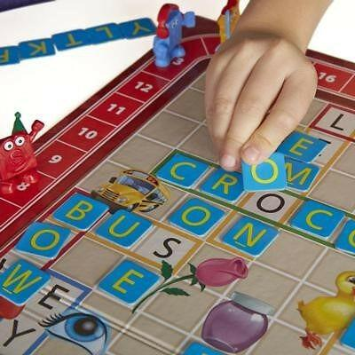 Scrabble junior - double sided board game