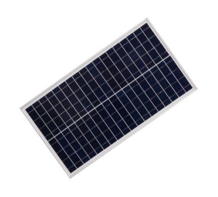 SOLAR PANEL P/C 12Vnom 30W 350x625x25mm JCN-P30 / 181409