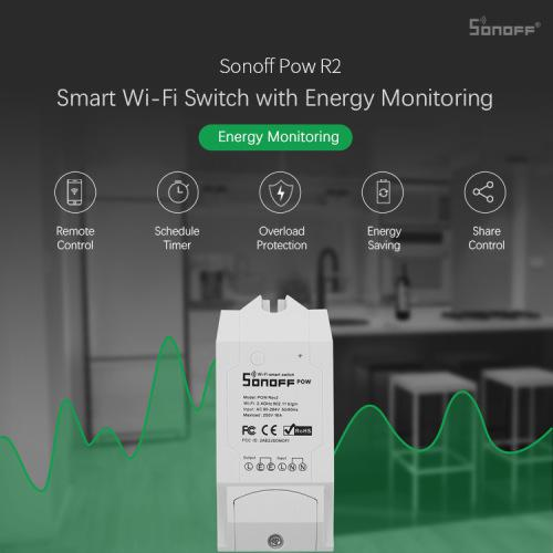 Sonoff power monitoring smart switch