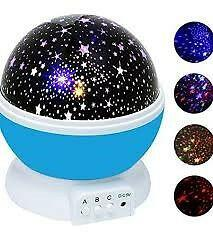 Star master dream rotating projection lamp