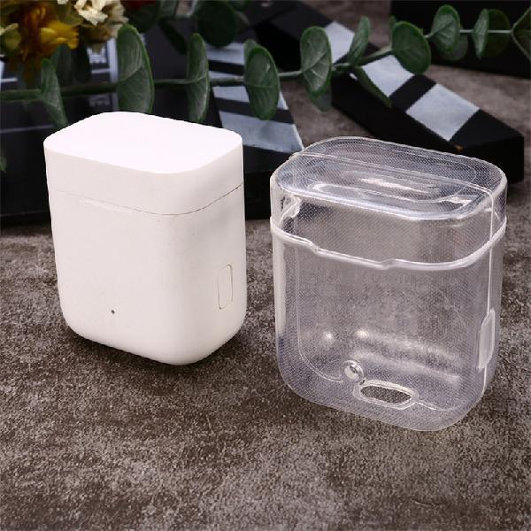 Transparent Portable Earphone Storage Case Protective Bag