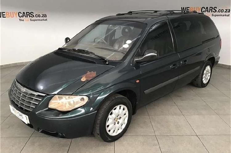 Chrysler grand voyager 2004