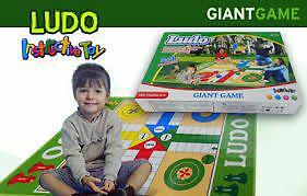 Classic ludo giant floor board game