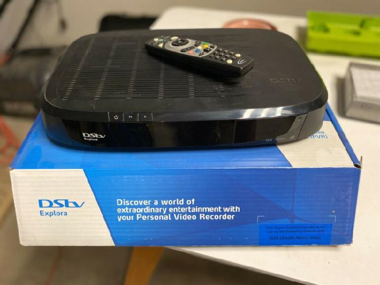 Dstv explora and other
