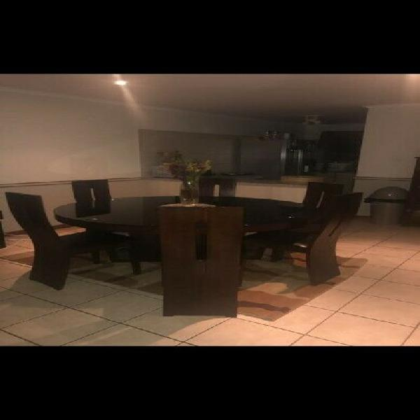 Dining room table r8000.00 or closest offer.