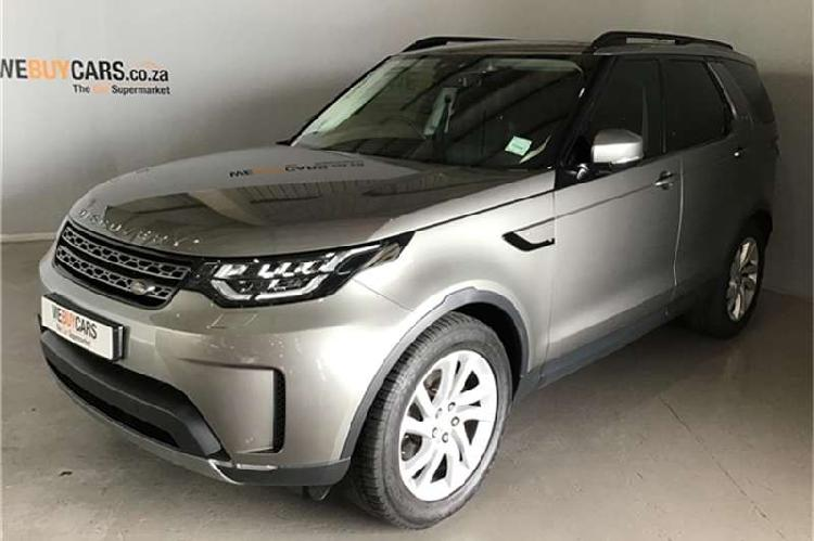 Land rover discovery se td6 2017