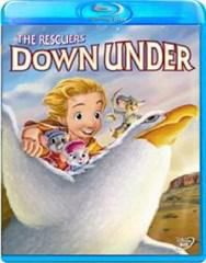 Rescuers down under, the (blu ray)