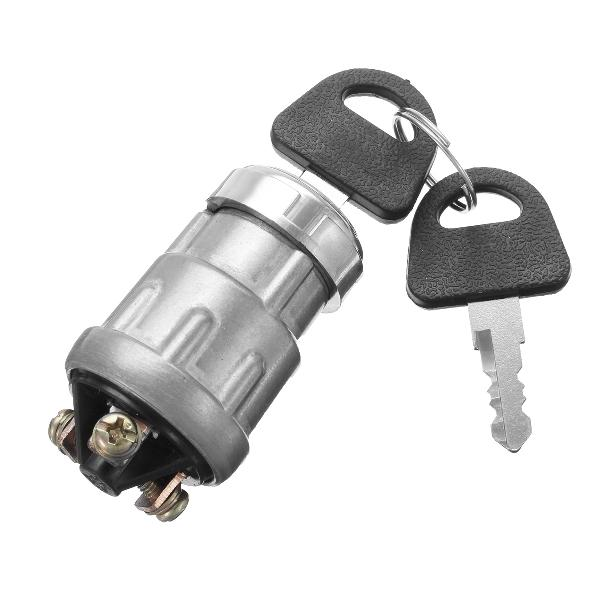 12v ignition barrel key switch waterproof key for motorcycle
