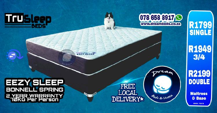 Bed sets all sizes free delivery from r1799 to r6199