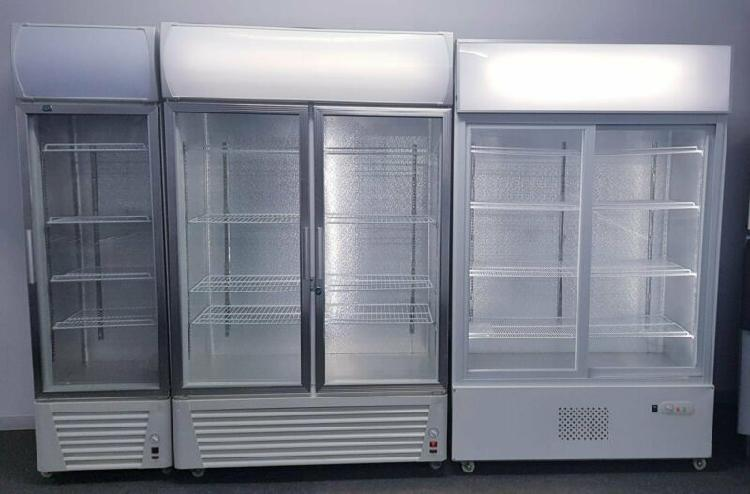Double door fridge - double door cooler - single door fridge