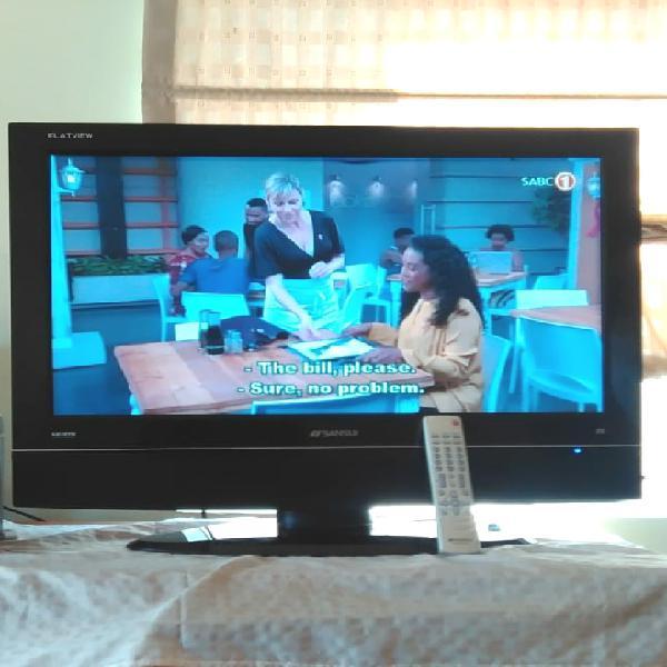 Plasma sansui tv 32 inch for sale r1.650neg