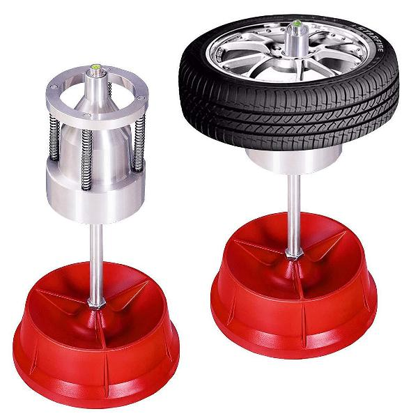 Portable hubs wheels tire balancer bubble level heavy duty