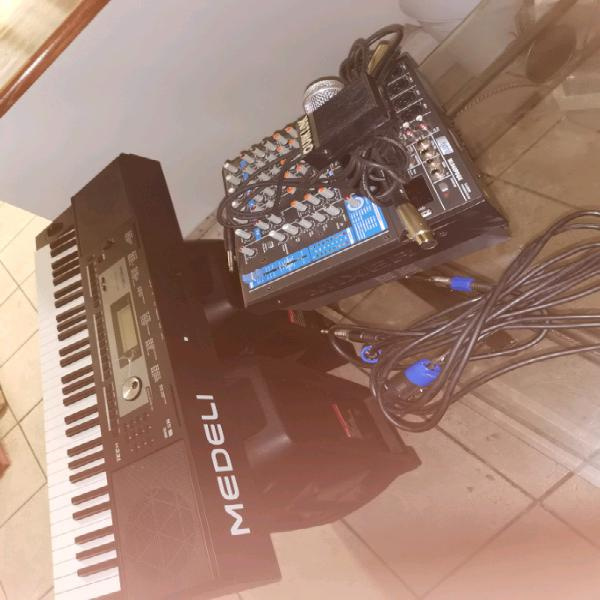Sound system and keyboard