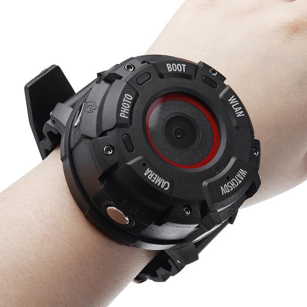 Wifi hd 1080p sport watch camera swim diving dvr video