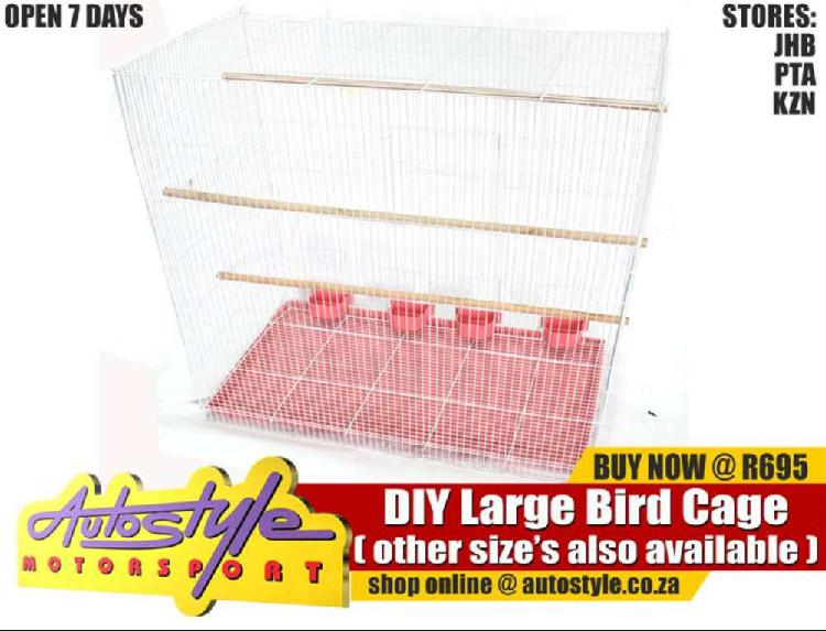 Diy bird cage small r250 diy bird cage medium r495 diy bird