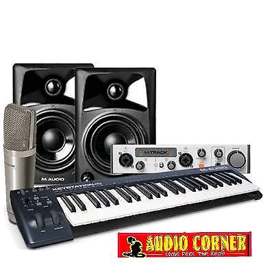 M.audio studio in a box new