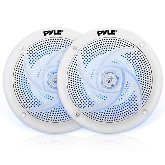 Pyle marine speakers - 6.5 inch 2 way waterproof and weather