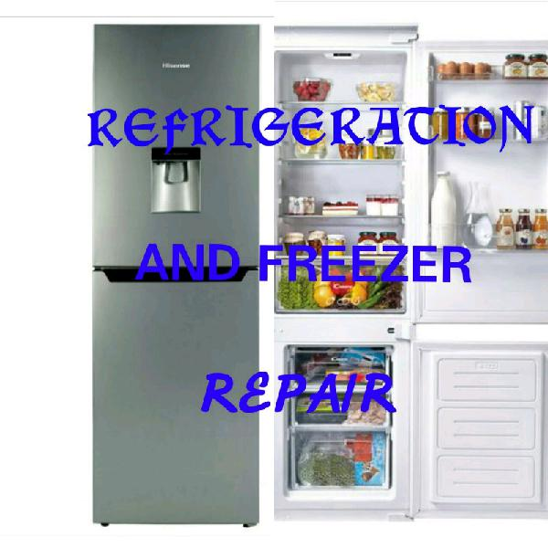 Refrigeration and freezers repairs